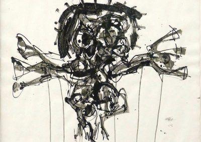 1963, Crucifixión de Antonio Saura