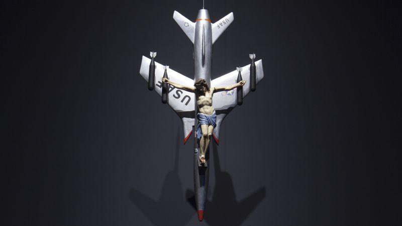 1965, La Civilización Occidental y Cristiana de León Ferrari