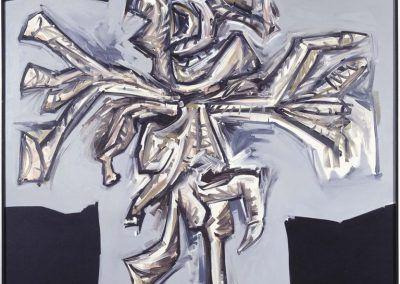 1979, Crucifixión de Antonio Saura en el Museo Nacional Centro de Arte Reina Sofía
