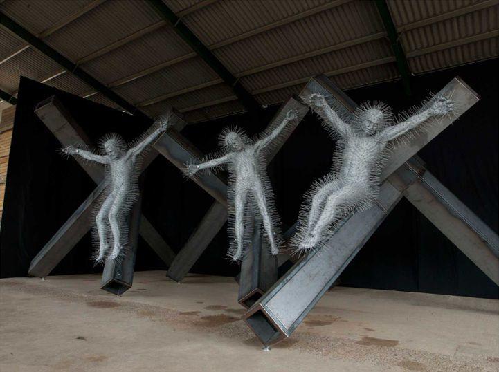 2011, Precious Light de David Mach