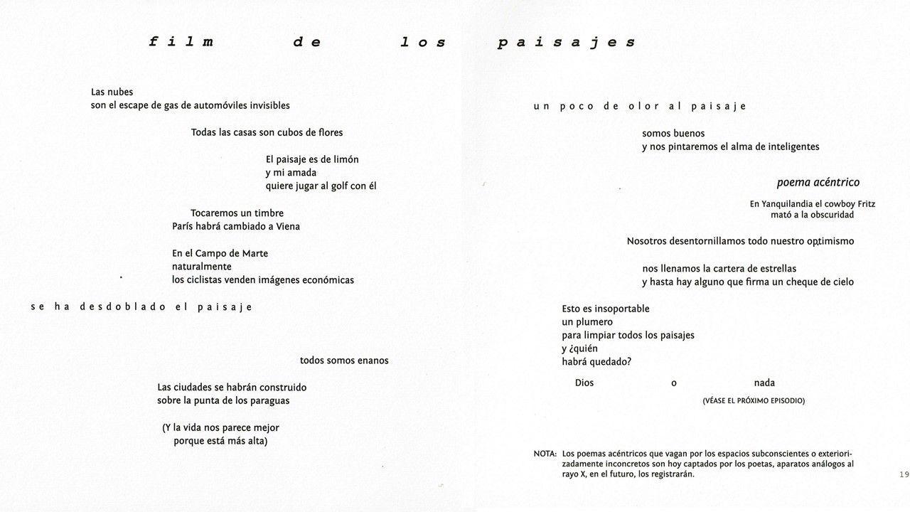 Carlos Oquendo de Amat, poeta visual