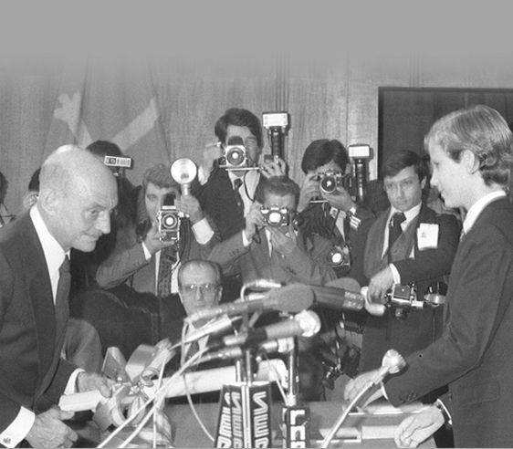 Discurso de José Hierro al recibir el Premio Príncipe de Asturias de las Letras de 1981
