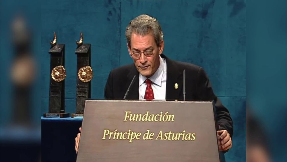 Discurso de Paul Auster al recibir el Premio Príncipe de Asturias de las Letras de 2006