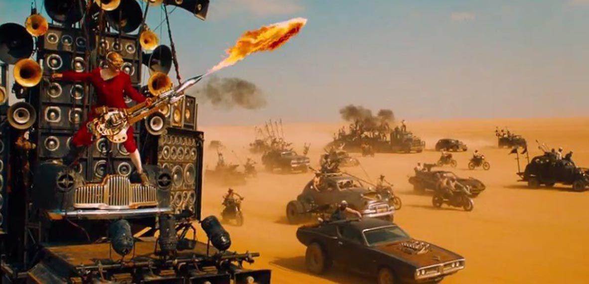 Mad Max 2, el guerrero de la carretera dirigida por George Miller, 1981