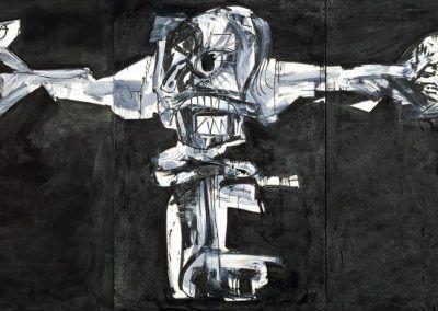 1959-60, Crucifixión de Antonio Saura