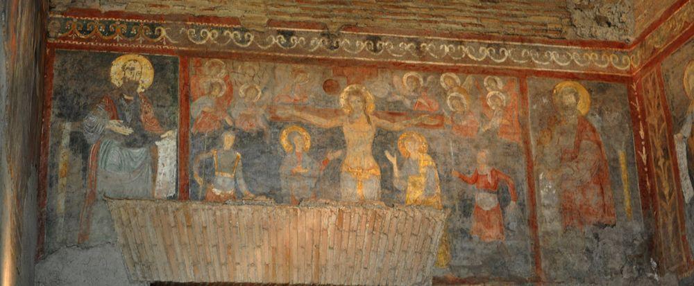11??, Crucifixión en la Basílica San Pablo Extramuros de Roma