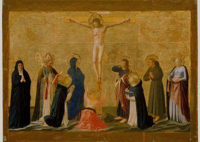 1440, La Crucifixión de Fra Angelico