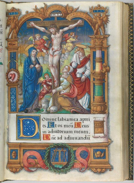 1539-40, Libro de las Horas del Rey Francisco I por el Maestro François de Rohan