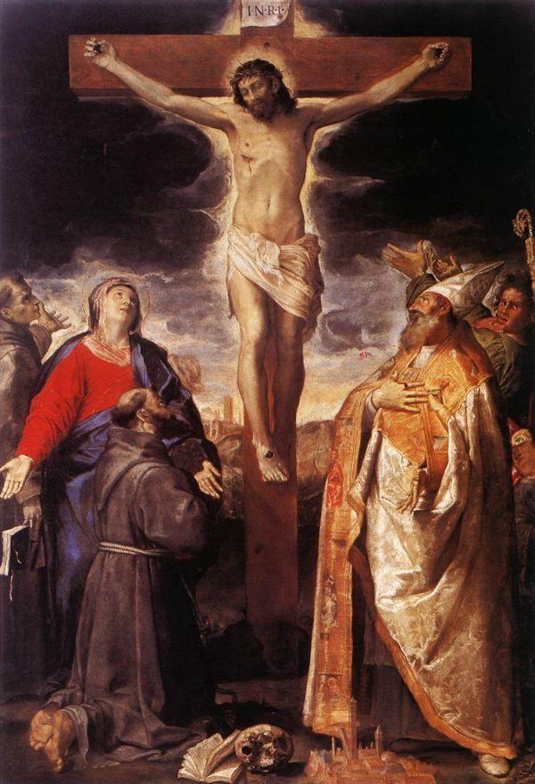 1583, Crucifixión de Annibale Carracci en la Iglesia de Santa María de la Caritá en Bologna