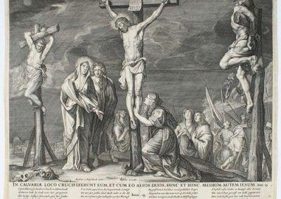16??, Crucifixión de Abraham van Diepenbeeck