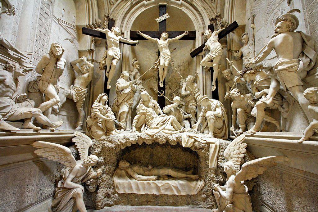 1666, La Pasión de Giovanni Battista Barberini en la Iglesia de San Agustín de Cremona (Italia)