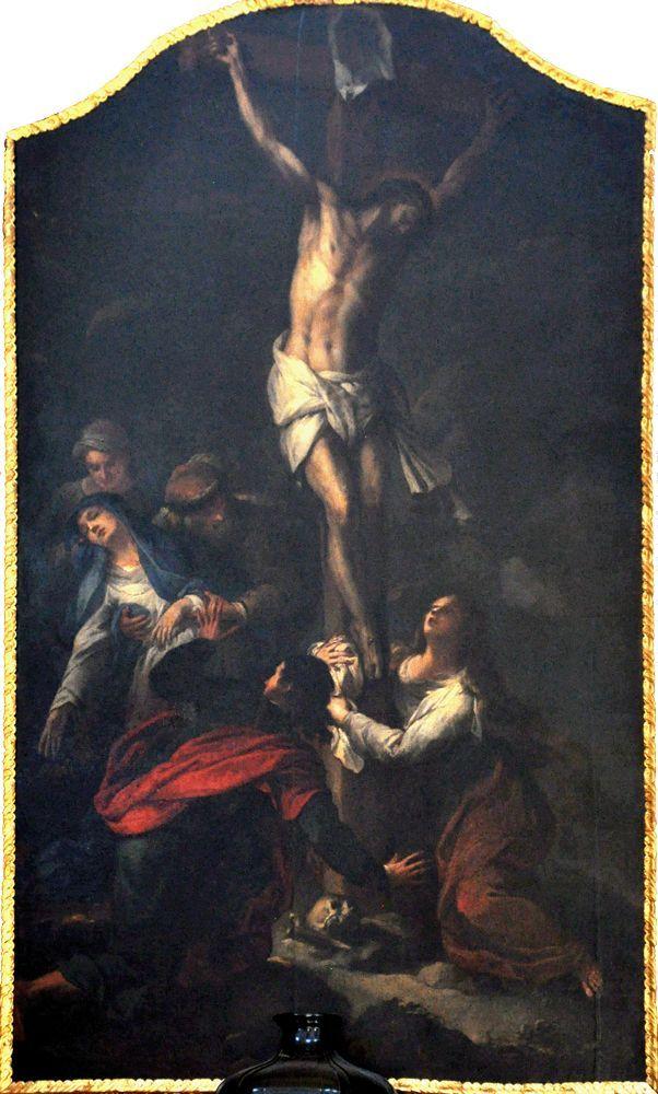 1690-99, Crucifixión de Peter Strudel