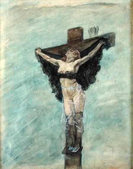 1878, Estudio para la tentación de San Antonio de Felicien Rops