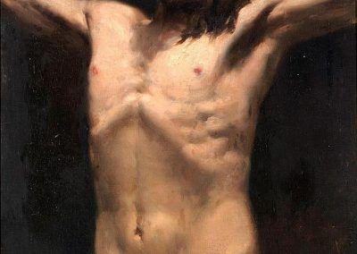 1883, Estudio de Cristo de Joaquín Sorolla