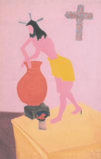 1946, Cristo chino de Milton Avery