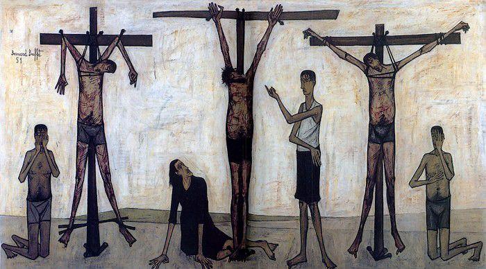 1951, La Pasión de Cristo de Bernard Buffet