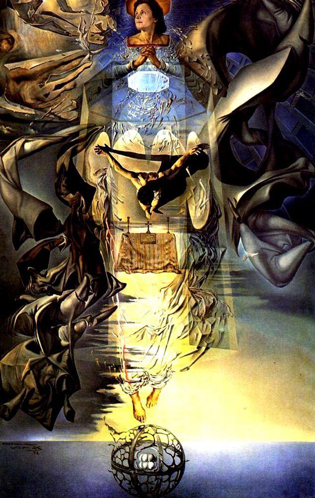 1952, Assumpta Corpuscularia Lapislazulina de Salvador Dalí