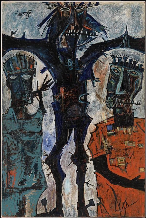 1959, Crucifixión de Francis Newton Souza