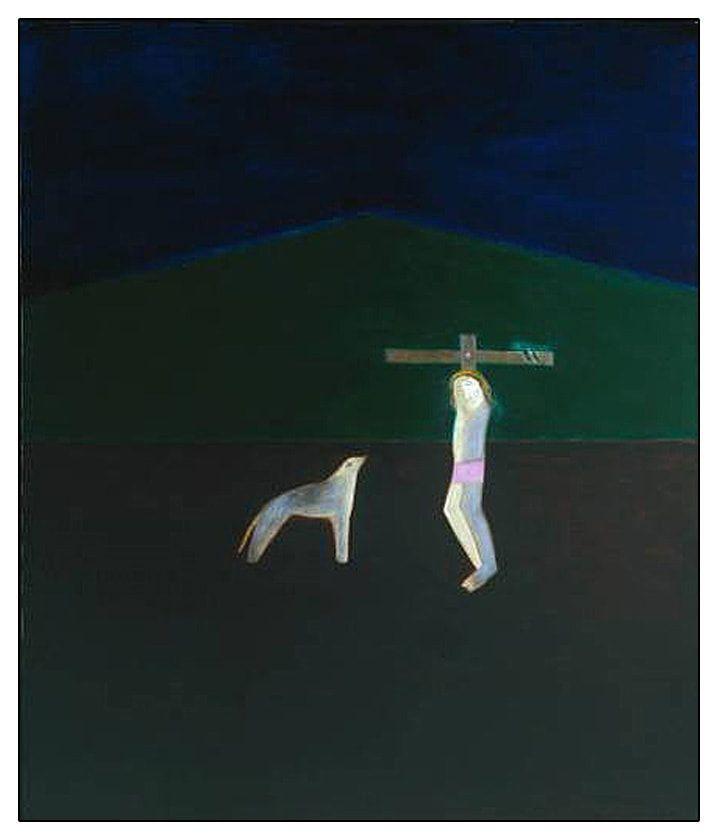 1960, Crucifixión de Craigie Aitchison
