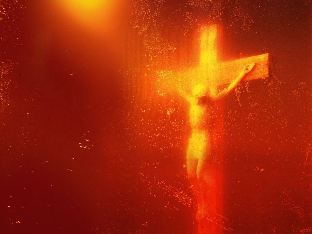 1987, Inmersión (Piss Christ) de Andrés Serrano