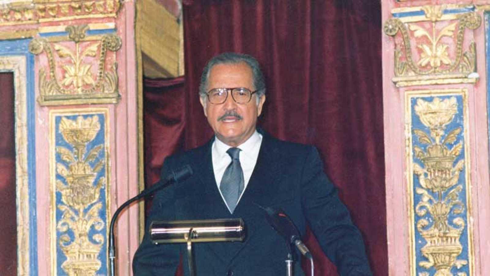 Discurso de Carlos Fuentes al recibir el Premio Cervantes de 1987