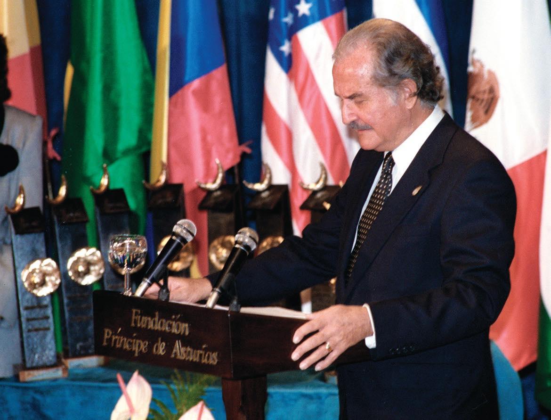 Discurso de Carlos Fuentes al recibir el Premio Príncipe de Asturias de las Letras del 1994
