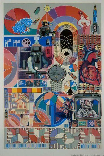 Eduardo Paolozzi, poeta visual