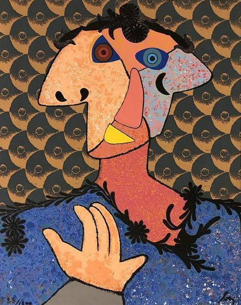 Enrico Baj, poeta visual