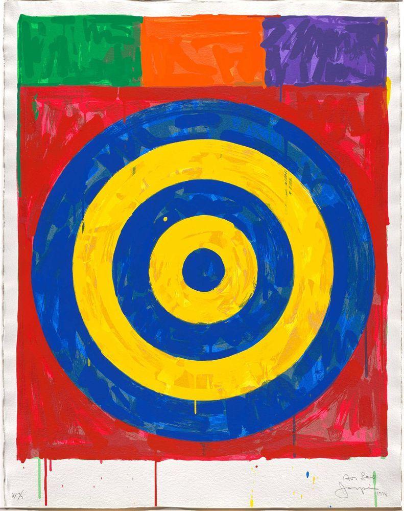Jasper Johns, poeta visual