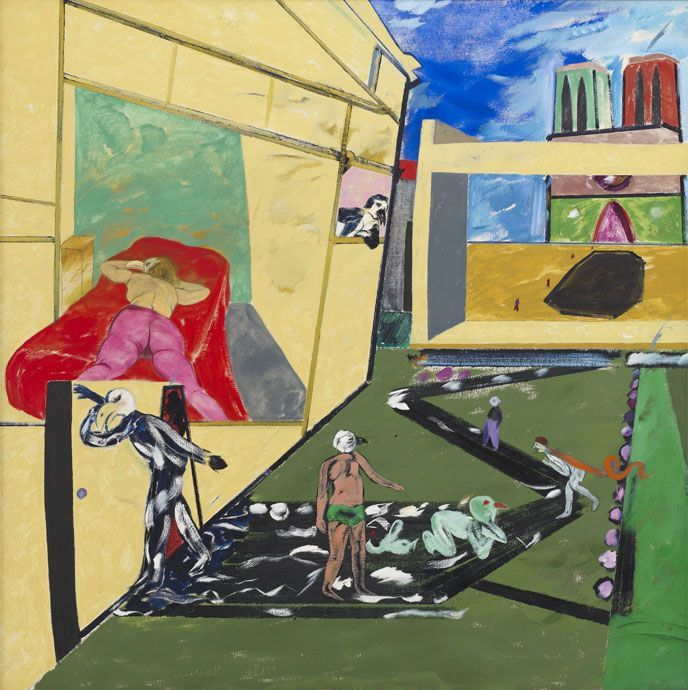 R.B. Kitaj, poeta visual