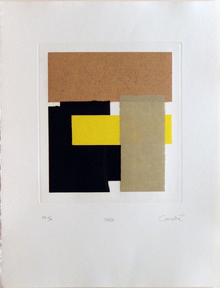 Rafael Canogar, poeta visual