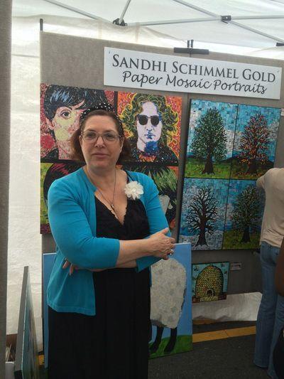 Sandhy Schimmel Gold, poeta visual