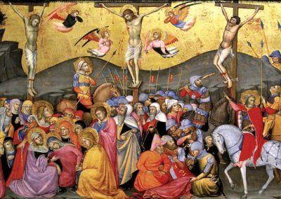 1400, Crucifixión de Andrea di Bartolo