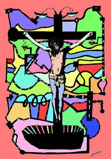 2014, Jesús en la Cruz de Jonas Heen Haeg