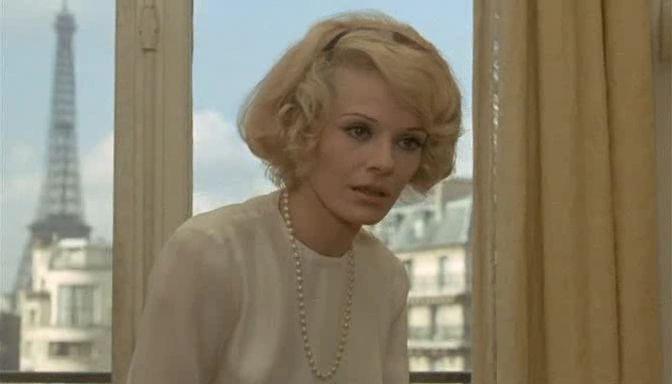 Besos robados dirigida por François Truffaut, 1968
