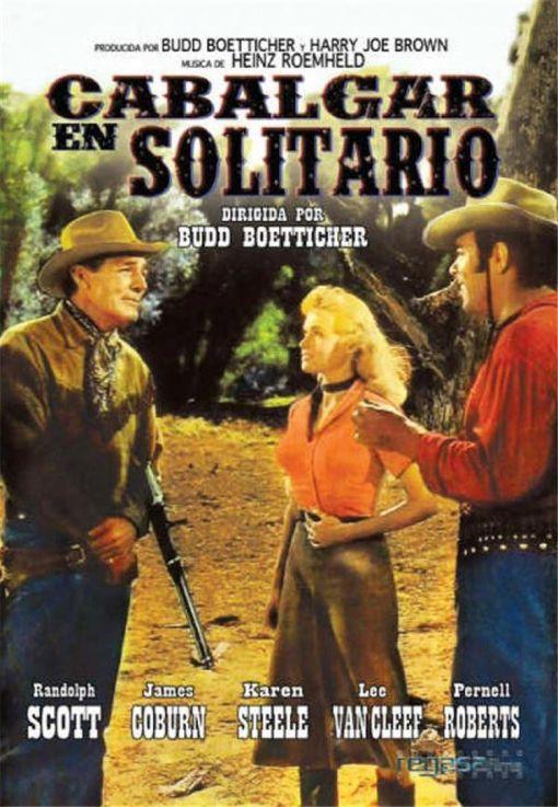 Cabalgar en solitario dirigida por Budd Boetticher, 1959