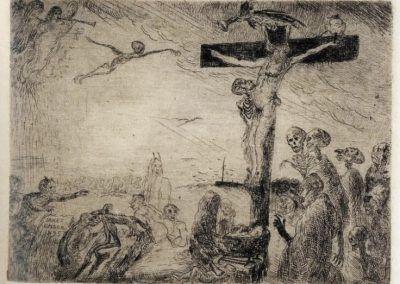 1895, Cristo atormentado por los demonios de James Ensor