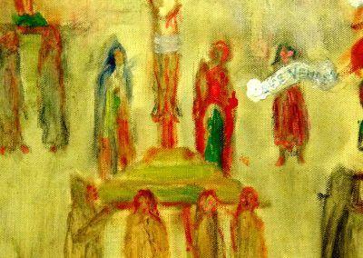 1913, Procesión de penitentes de Furnes de James Ensor