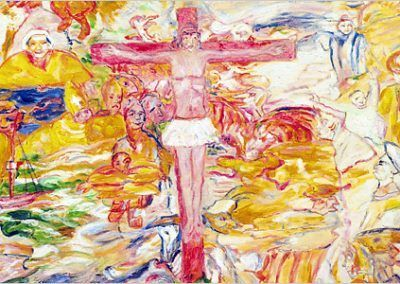 1938, La agonía de Cristo de James Ensor