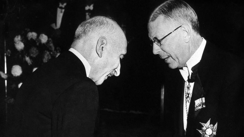Discurso de François Mauriac al recoger el Premio Nobel de Literatura de 1952