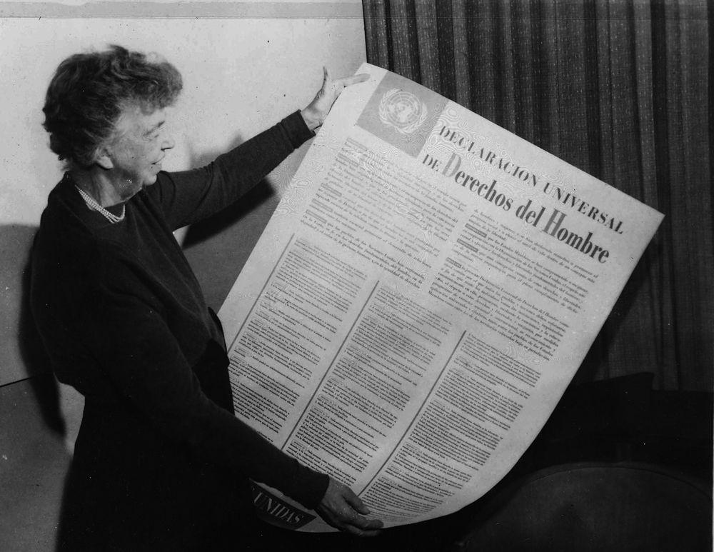 Discursos de Eleanor Roosevelt