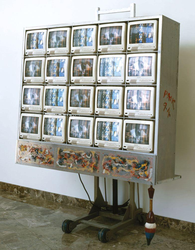 Nam June Paik, poeta visual