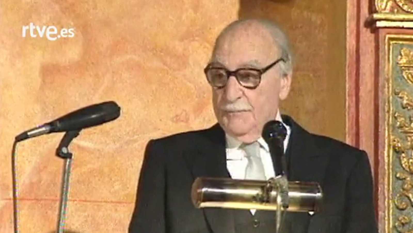 Discurso de Francisco Ayala al recibir el premio Cervantes de 1991