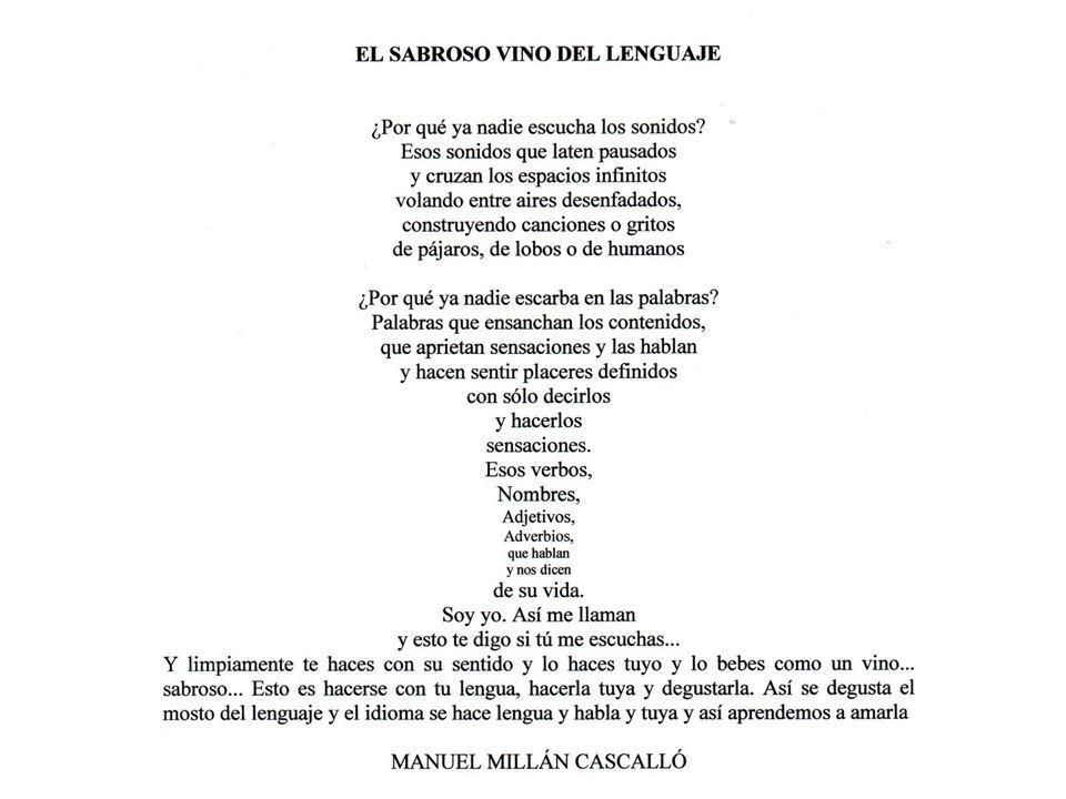Manuel Millán Cascalló, poeta visual