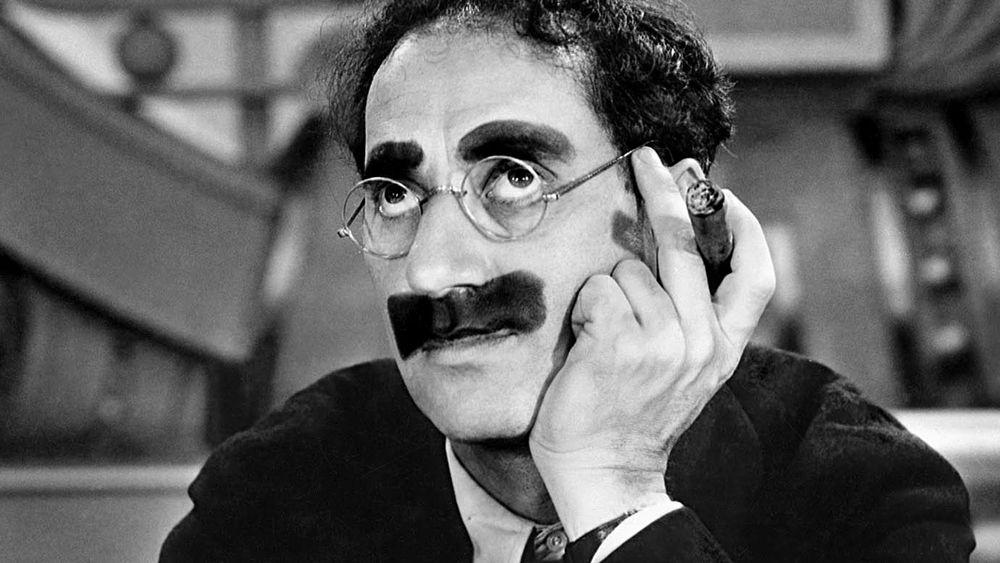 La sinceridad compulsiva de Groucho Marx