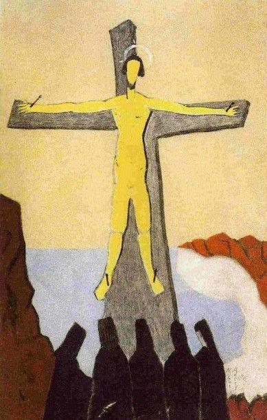 1946, Crucifixión de Milton Avery