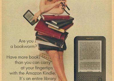 Nuevos productos y publicidad vintage: Amazon