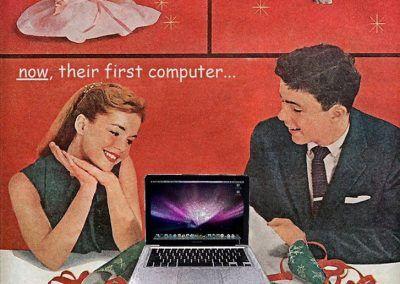 Nuevos productos y publicidad vintage: Apple