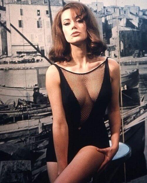 Claudine Auger, París, 1941-2019