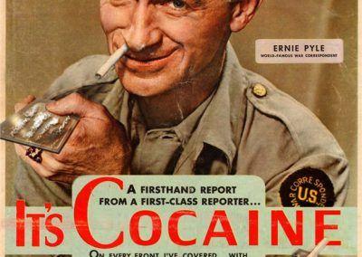 Nuevos productos y publicidad vintage: Cocaina